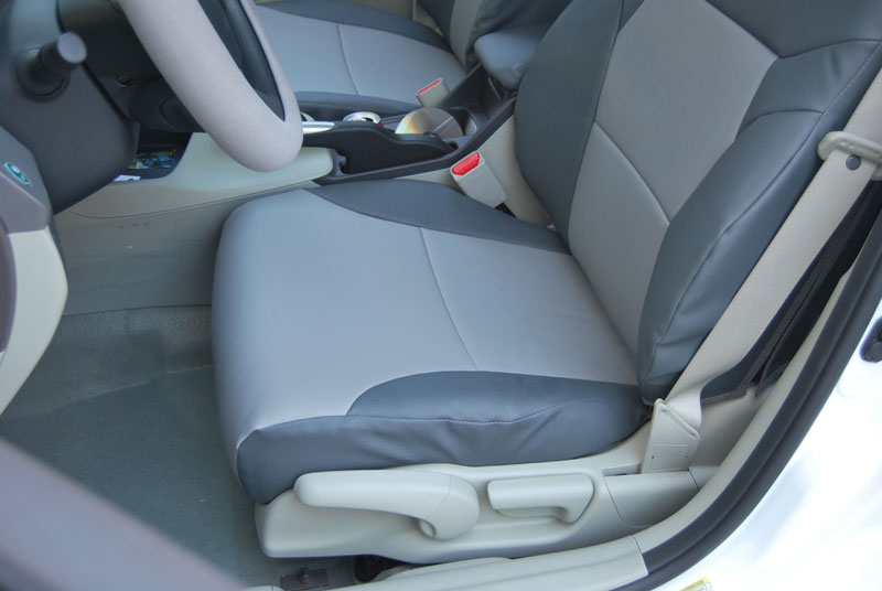 honda civic sedan 2012 2014 leather like custom seat cover. Black Bedroom Furniture Sets. Home Design Ideas