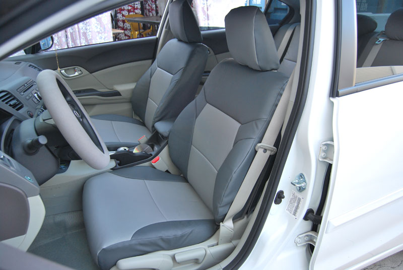 honda civic sedan 2012 iggee s leather custom fit seat. Black Bedroom Furniture Sets. Home Design Ideas