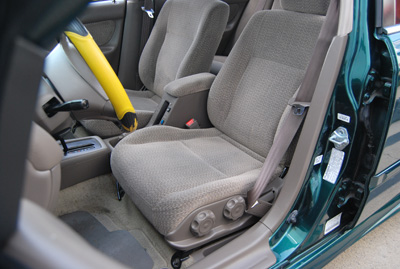Honda Civic 1997 2002 Iggee S Leather Custom Fit Seat