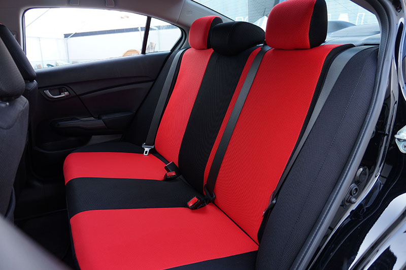 honda civic 2012 2014 spacer mesh custom fit made seat. Black Bedroom Furniture Sets. Home Design Ideas