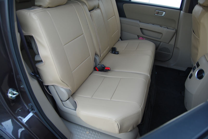 honda pilot 2003 2012 iggee s leather custom fit seat cover 13colors available ebay. Black Bedroom Furniture Sets. Home Design Ideas