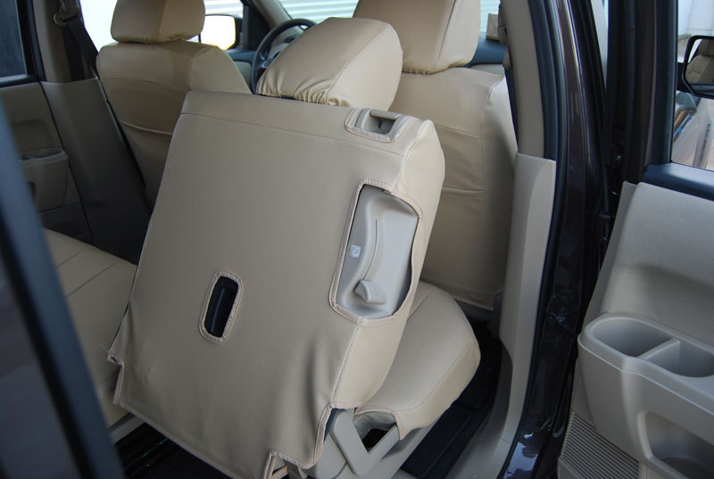 honda pilot 2003 2010 leather like custom seat cover. Black Bedroom Furniture Sets. Home Design Ideas