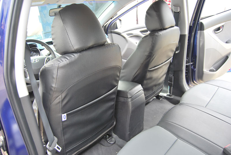 Iggee Vinyl Custom Seat Cover For 2011 2012 Hyundai