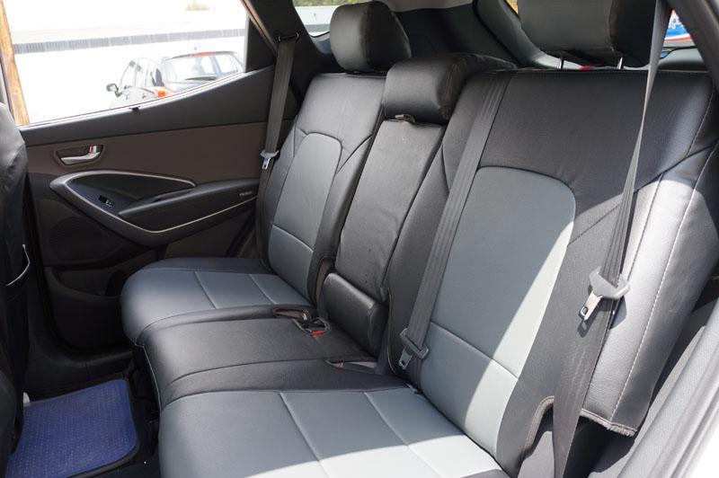 2015 Hyundai Sonata >> IGGEE VINYL CUSTOM FIT SEAT COVER FOR 2015-2016 HYUNDAI SANTA FE