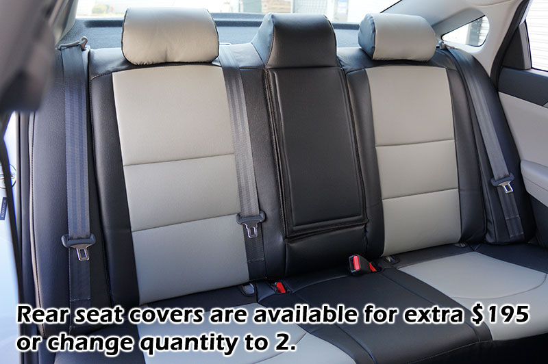 iggee vinyl custom fit seat cover for 2015 hyundai sonata new model ebay. Black Bedroom Furniture Sets. Home Design Ideas