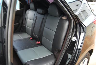 leather like custom fit seat cover for hyundai tucson 2010 2012 ebay. Black Bedroom Furniture Sets. Home Design Ideas