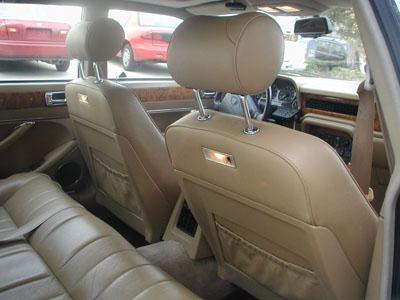 Jaguar Xj6 1979 1994 Leather Like Custom Fit Seat Cover Ebay