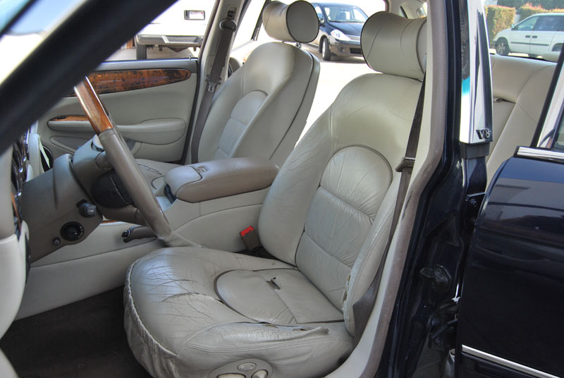 Jaguar Xjs 1991 1996 Leather Like Custom Fit Seat Cover Ebay