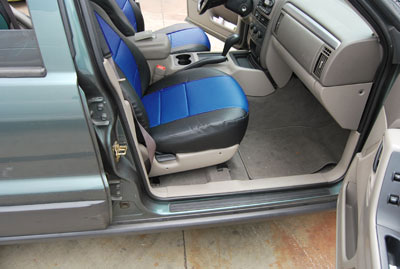 jeep grand cherokee 1999 2004 iggee s leather custom fit seat cover 13colors ebay. Black Bedroom Furniture Sets. Home Design Ideas