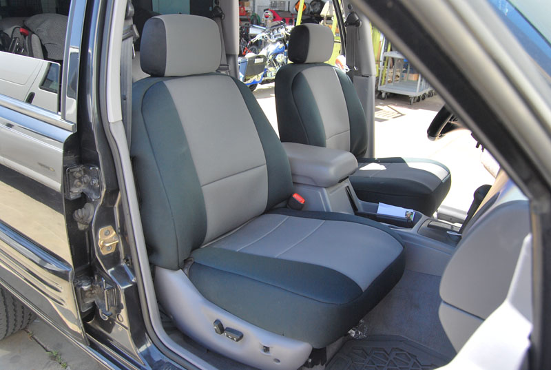 jeep cherokee 1993 1998 iggee s leather custom fit seat cover 13colors available ebay. Black Bedroom Furniture Sets. Home Design Ideas