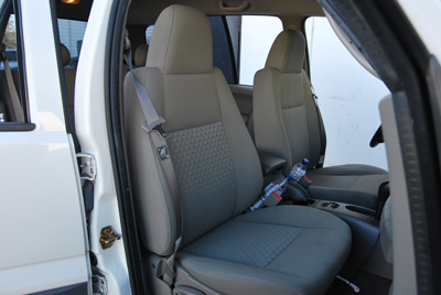 jeep liberty sport 2002 2010 leather like custom seat cover ebay. Black Bedroom Furniture Sets. Home Design Ideas