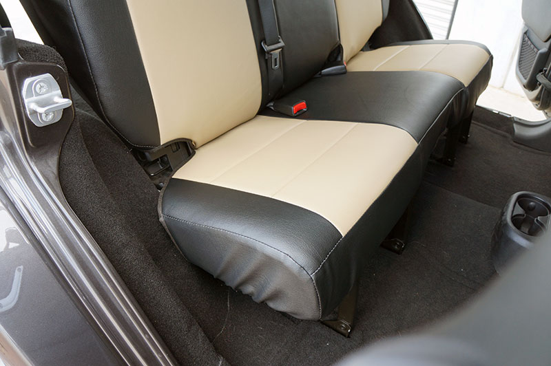 jeep wrangler 2013 2016 iggee s leather custom seat cover 13colors available ebay. Black Bedroom Furniture Sets. Home Design Ideas