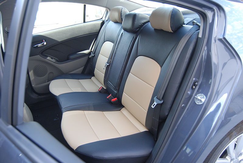 Kia Forte 2010 2012 Iggee S Leather Custom Fit Seat Cover