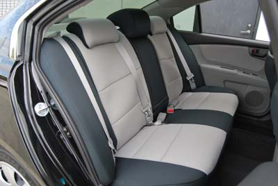 KIA OPTIMA 2009 2010 LEATHER LIKE CUSTOM FIT SEAT COVER