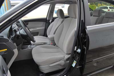 kia optima 2009 2010 leather like custom fit seat cover ebay. Black Bedroom Furniture Sets. Home Design Ideas