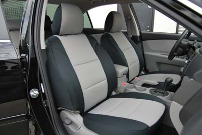 KIA OPTIMA 2007 2008 IGGEE SLEATHER CUSTOM FIT SEAT COVER