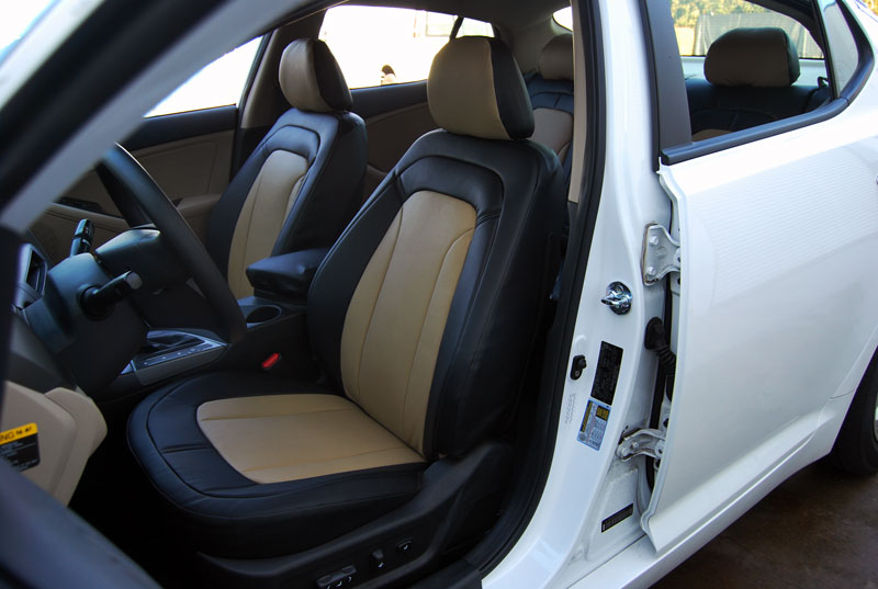 iggee s leather custom seat cover for 2009 2015 kia optima 13colors available ebay. Black Bedroom Furniture Sets. Home Design Ideas