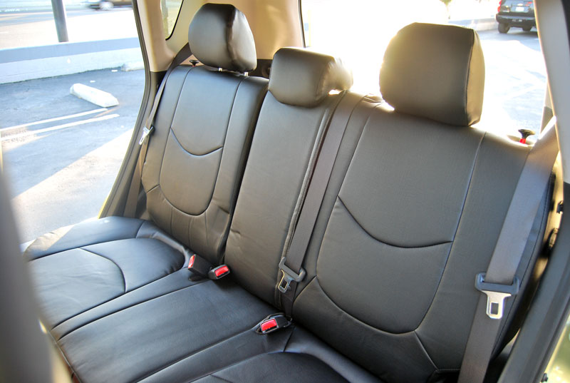 KIA SOUL 2010 2015 IGGEE SLEATHER CUSTOM FIT SEAT COVER