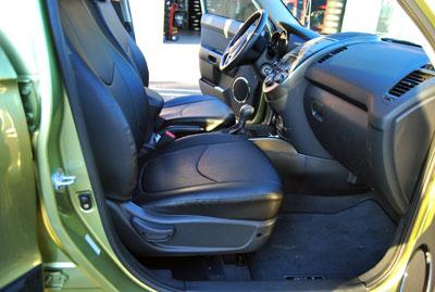 Kia Soul 2010 2015 Iggee S Leather Custom Fit Seat Cover