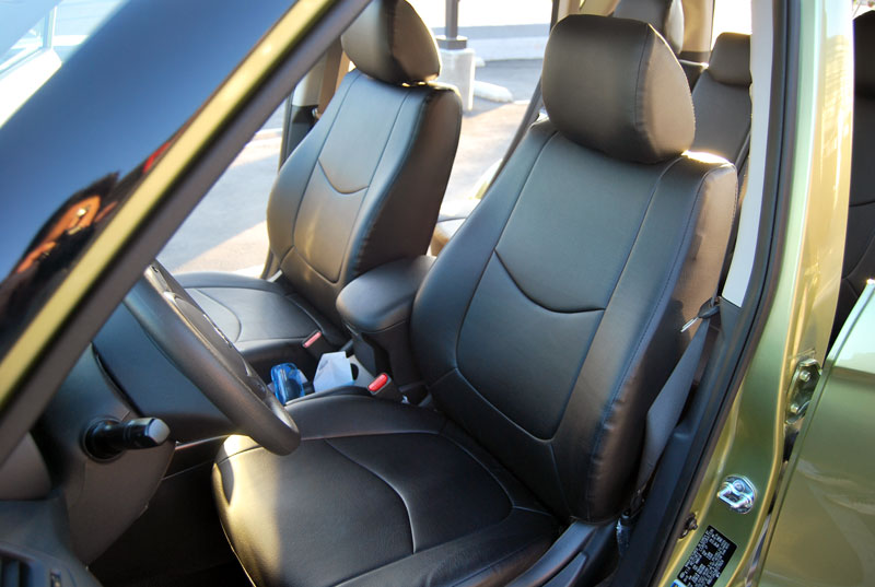 Kia Soul Seat Covers >> KIA SOUL 2010-2015 IGGEE S.LEATHER CUSTOM FIT SEAT COVER 13COLORS AVAILABLE   eBay