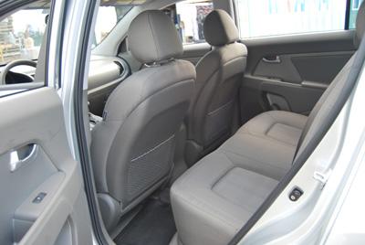 custom kia sportage car interior design. Black Bedroom Furniture Sets. Home Design Ideas