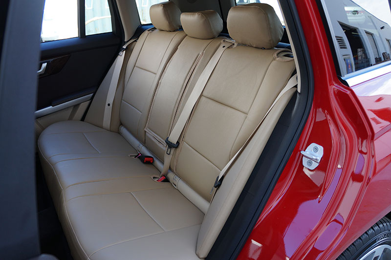 Mercedes benz glk 350 2011 2014 leather like seat cover 13 for Seat covers mercedes benz