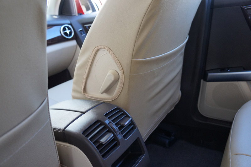 Mercedes benz glk 350 2011 2014 iggee s leather custom fit for Mercedes benz ml350 seat covers