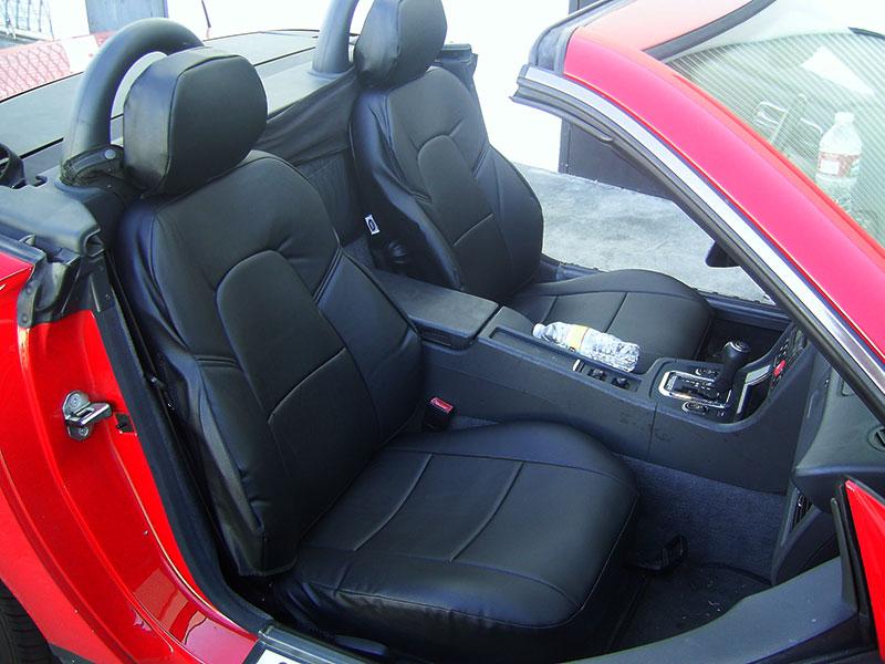 Mercedes benz clk 320 350 430 500 550 2002 2009 iggee s for Mercedes benz original seat covers