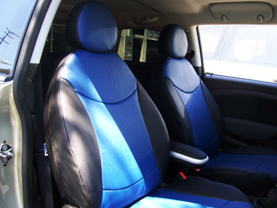 fiat 500 leather like custom seat cover ebay. Black Bedroom Furniture Sets. Home Design Ideas