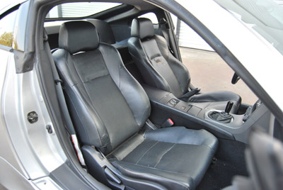 Nissan 350Z 2003 2014 S Leather Custom Fit Seat Cover 13