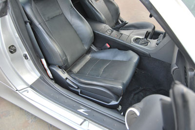 350z Leather Seats