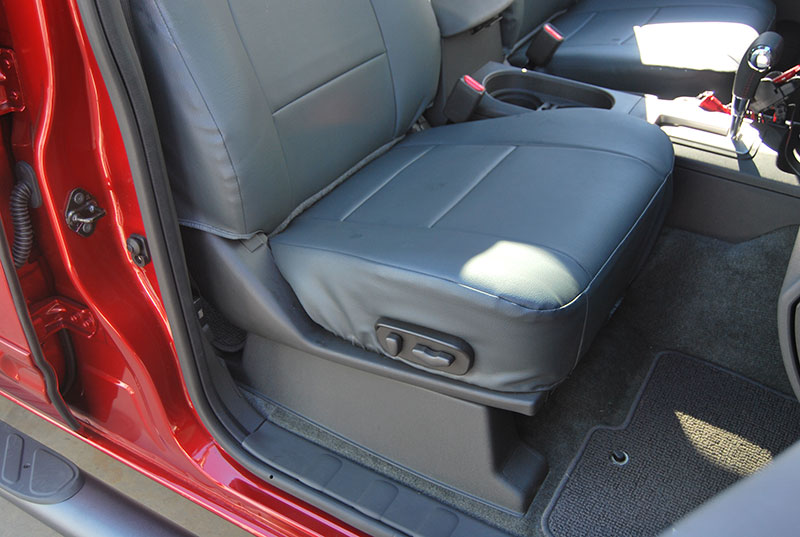 Nissan Frontier 2000 2008 Iggee S Leather Custom Fit Seat