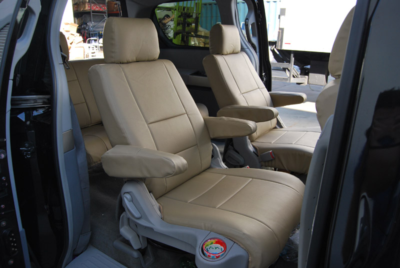 2012 Nissan quest seat cover