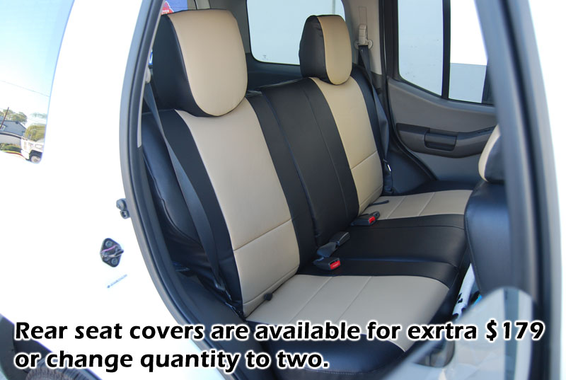 IGGEE SLEATHER CUSTOM FIT SEAT COVER FOR 2005 2017 NISSAN