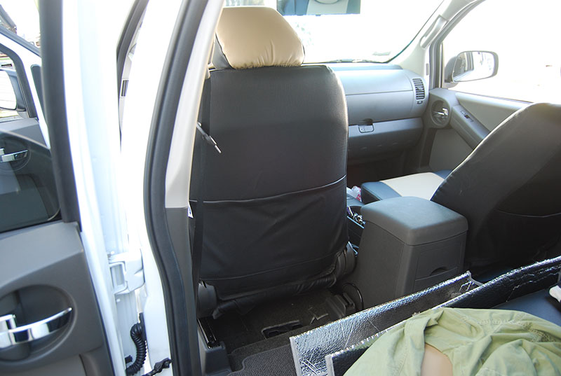 Nissan Xterra 2012 2014 S Leather Custom Fit Seat Cover Ebay