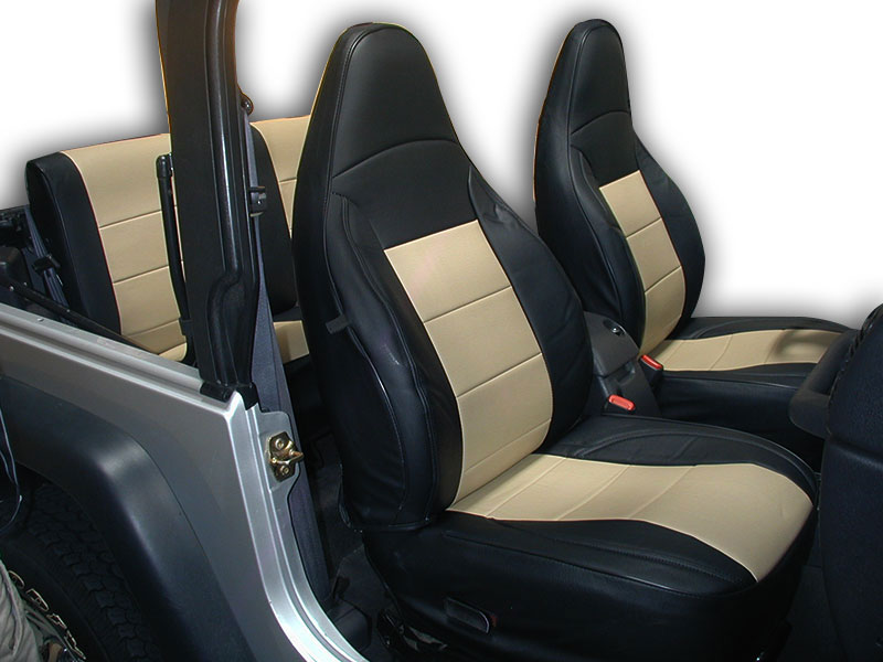 Leather jeep seat cover