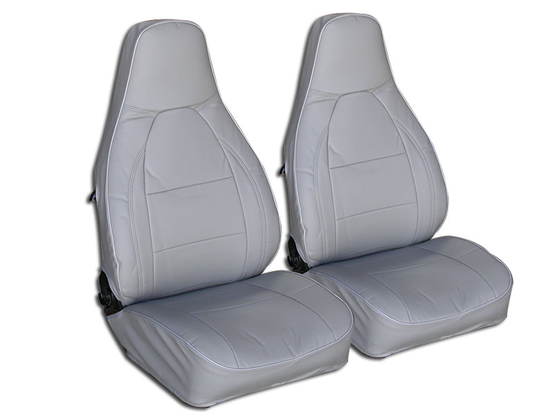 Porsche 911 924 944 968 1976 1984 Solid Grey S Leather
