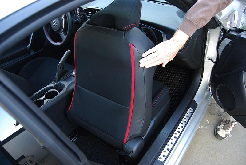 scion fr s 2013 2016 iggee s leather custom seat cover. Black Bedroom Furniture Sets. Home Design Ideas