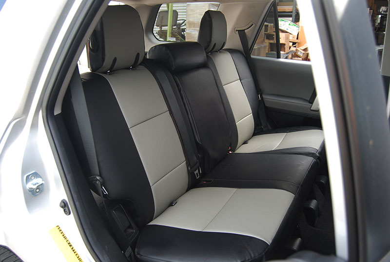 TOYOTA 4RUNNER 2010 2014 IGGEE SLEATHER CUSTOM SEAT COVER