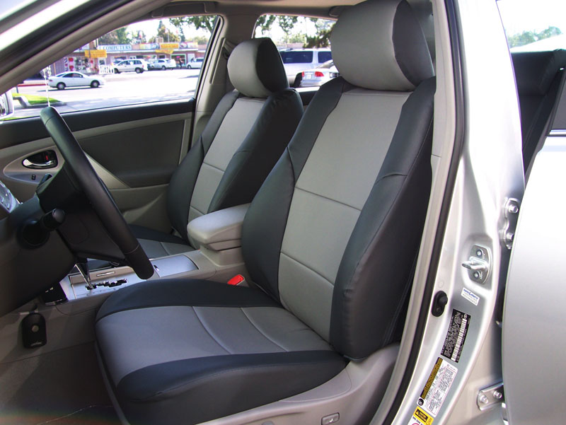toyota camry 2006 2007 2008 2009 2010 2011 vinyl custom seat cover ebay. Black Bedroom Furniture Sets. Home Design Ideas