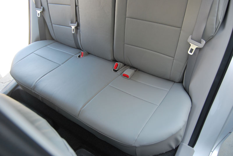 TOYOTA COROLLA 2003 2008 IGGEE SLEATHER CUSTOM SEAT COVER