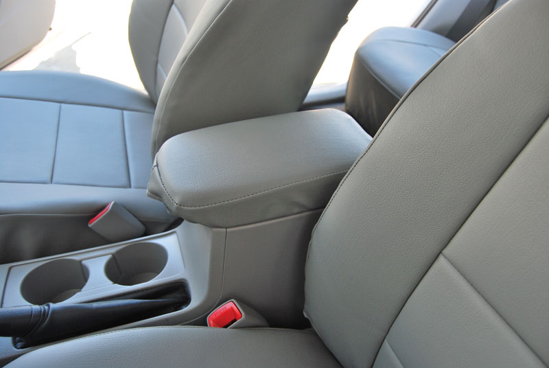 toyota corolla 2003 2008 leather like custom seat cover ebay. Black Bedroom Furniture Sets. Home Design Ideas