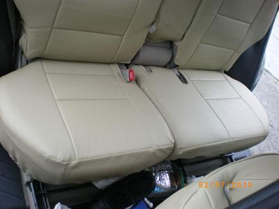 toyota rav4 2006 2010 leather like custom seat cover. Black Bedroom Furniture Sets. Home Design Ideas