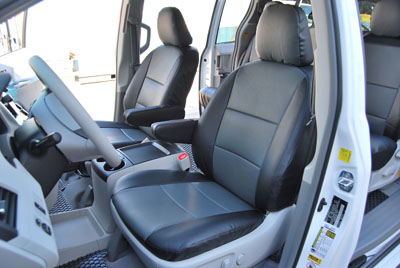 volkswagen routan 2009 2012 leather like custom seat cover ebay. Black Bedroom Furniture Sets. Home Design Ideas