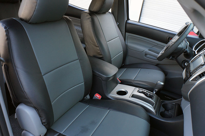 Toyota Tacoma 2005 2015 Iggee S Leather Custom Fit Seat Cover 13colors Available Ebay