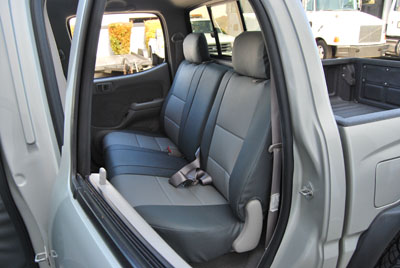 Coverking Seat Covers >> TOYOTA TACOMA 2005-2011 IGGEE S.LEATHER CUSTOM FIT SEAT COVER 13COLORS AVAILABLE | eBay