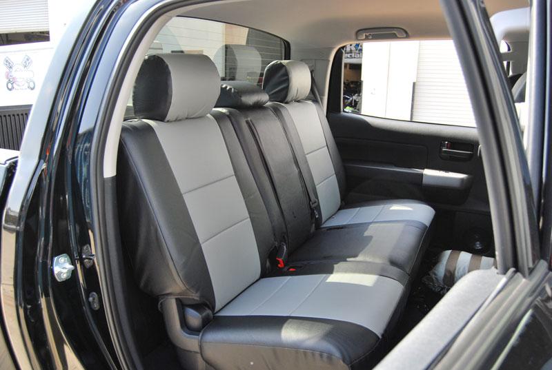 toyota tundra 2011 2014 leather like custom seat cover ebay