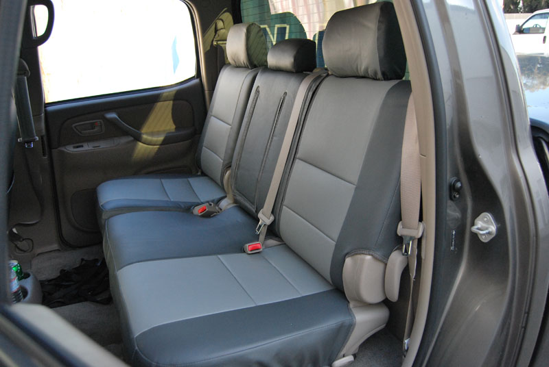 toyota tundra 2005 2006 iggee s leather custom fit seat cover 13colors available ebay. Black Bedroom Furniture Sets. Home Design Ideas