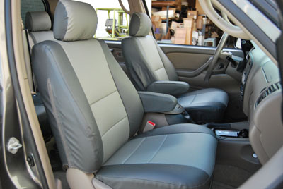 Toyota Tundra 2005 2006 Iggee S Leather Custom Fit Seat