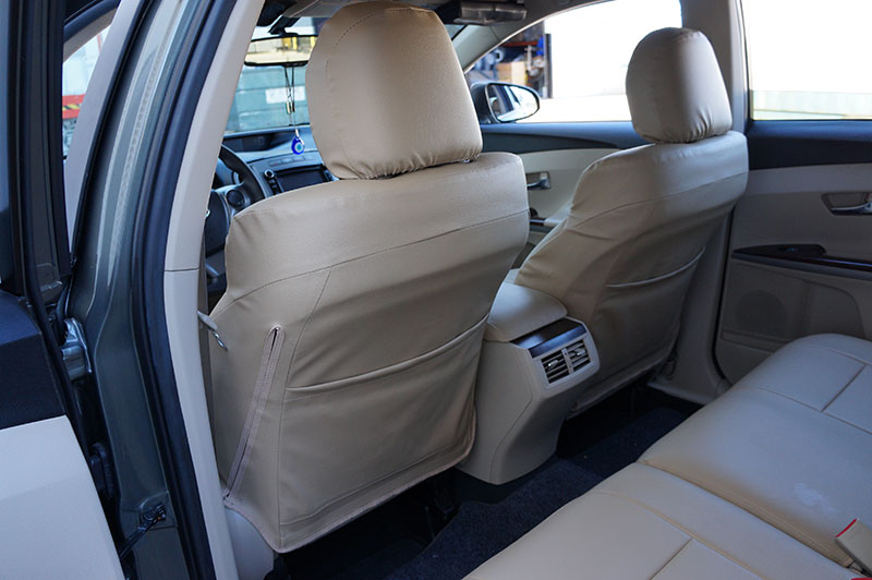 TOYOTA VENZA 2009-2015 IGGEE S.LEATHER CUSTOM FIT SEAT ...